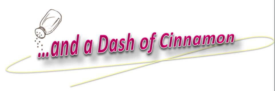…and a Dash of Cinnamon header image